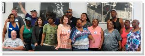 Members of the Home Care United Bargaining Team